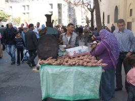 ER Street vendors by Magdyas
