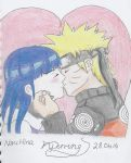 Naruto X Hinata Kiss ( NaruHina ) by nickperriny7mai
