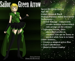 +Justice Scouts+ Sailor Green Arrow by phoenixtsukino