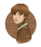 Arya Stark by kimpertinent