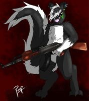 Say Skunks Stink, I dare you, I double dare you! by PervertPumpkin