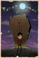 Paranorman Fan Poster by flattack