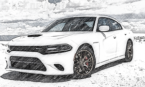 Dodge Charger Hellcat by E-a-2