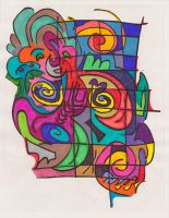 Sharpie Doodle Collaboration 1 by graffitica