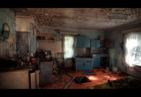 Abandoned House HDR Workshop by nfilipevs