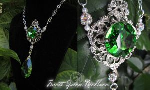 Forest Queen Necklace by Lillyxandra