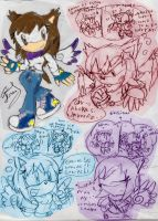 me in version sonic sketches1 by Ferni21