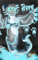 Glowing Painted Paws :.Gift.: by LionKingWarriors561
