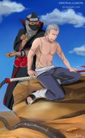 Second chance for Hidan by Moon-illusion