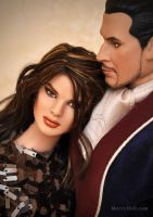 Dick and Tess doll repaints by mary-vassilieva