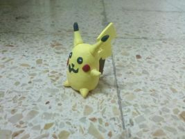 Fimo Pikachu by Indiana8Jones