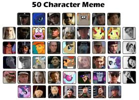 Favourite character meme by BubblegumBloo