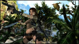 Tomb Raider - Primal Carnage by ReD8ull