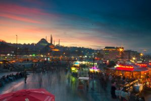 istanbul evening1 by globalunion