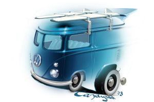 Hot Wheels VW Kool Combi 2013 by candyrod