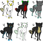 adoptables color by DemonOfTheNiteWind