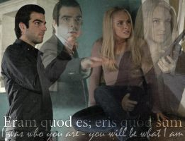 Sylar and Claire - Eris quod sum by abask5