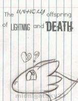 Lightning and Death by Midnightsky23