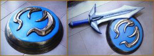 Sophitia's  Shield ! by Daisy-Cos