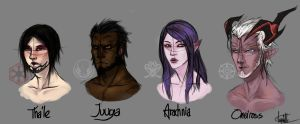 Character Portrait: TERA and SWTOR by PanzerTheTank