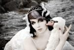 Swan Song II by Annie-Bertram
