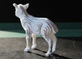 sheep scale model by LocationCreator