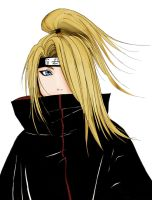 Deidara portrait by raikov9