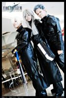 Advent Children: Reunion by wildquaker