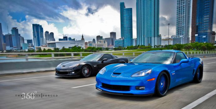 Corvette Z06 by 360FORGED