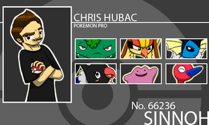 Chris Hubac Trainer Card. by ElvisDitto