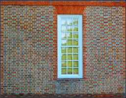 Brick Wall and Window by 12GO
