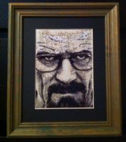Walter White Cross Stitch by Ngarner2