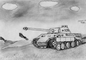 Panther Panzer V by warrior1944