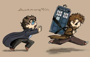 The doctor and the captain by volkradugi