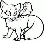 Free Cute Fox Lineart by Free-Line-Arts