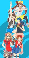 Pokemon School Girls by Tovato