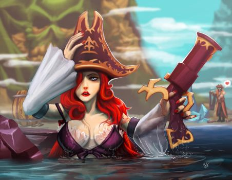 Miss Fortune funtime by LaRhsReBirTh
