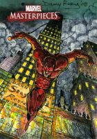 Daredevil MM3 Sketch Card by DKuang