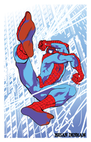 Spider-Man vector art by DaneRot