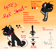 Kate Ref Sheet Update 1 by BakaPup