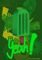 An illustration of a Popsicle by Grinder40