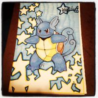 Pokemon 151 Challenge: Wartortle .:008:. by Curlygurly222