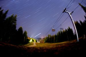 First Star Trails by OEMminus