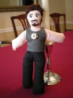 Tony Stark Plushie by jameson9101322
