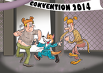 Dance at a convention by Granitoons