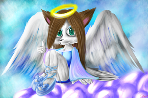 BG: Alicia the angel by lifegiving