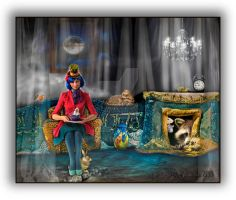Mad Hatter at Home by pepgirlz