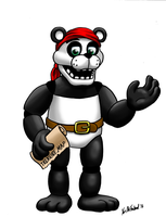Prize Art: Peter the Pirate Panda by Negaduck9