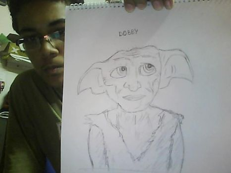 +Dobby- Harry Potter+ by vikki2011