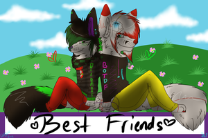friends forever by TOPAZxWOLF